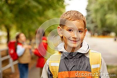 Smiling lad