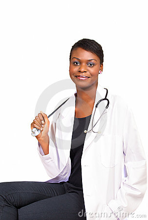 Free Smiling Lady Doctor Stock Photo - 22576520