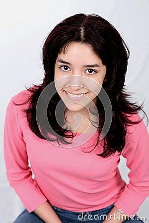 Smiling Latina