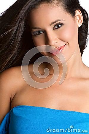 Free Smiling Latina Woman Royalty Free Stock Photo - 14466205