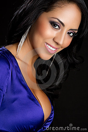 Free Smiling Latina Woman Stock Image - 15637781
