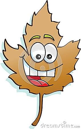 Smiling leaf
