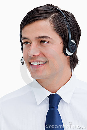 Working Call Center Agent Stock Photos - Image: 31370303