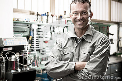 Smiling Mechanic
