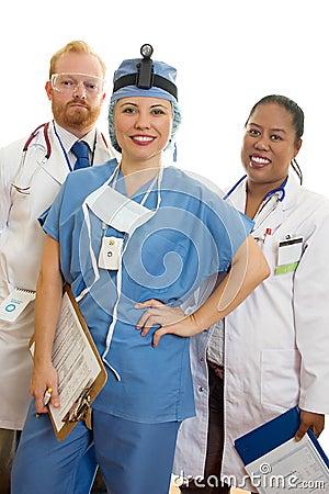 Smiling Medical Team
