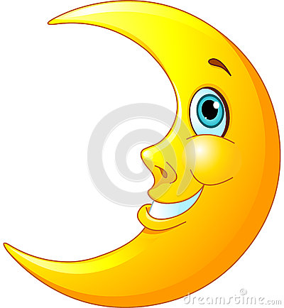 Smiling Moon Stock Photography Image 34434952