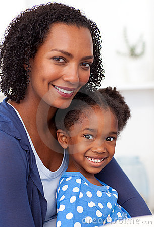 Free Smiling Mother And Her Little Girl Stock Photos - 11943173
