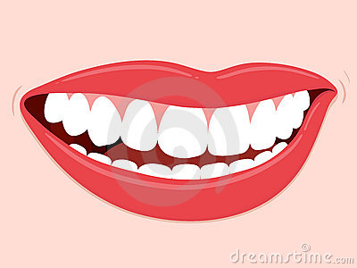 Smiling Mouth Healthy Teeth