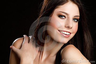 Smiling Pretty Woman