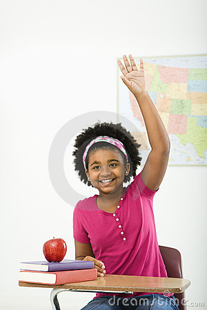 Free Smiling Schoolgirl. Royalty Free Stock Images - 3422979