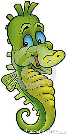 Smiling Seahorse