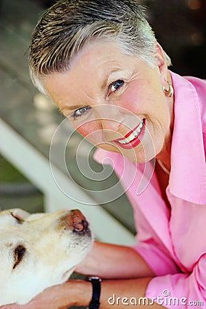 Free Smiling Senior Stock Image - 45315411