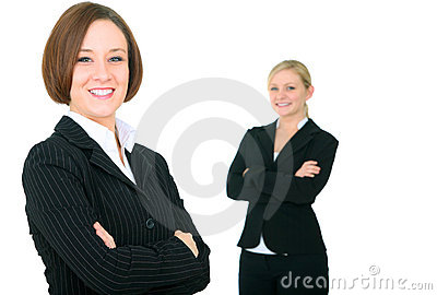 Smiling Successful Businessteam