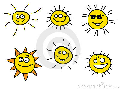 Smiling sunshines