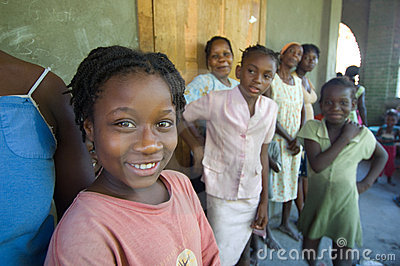 Smiling Survivor Editorial Photography