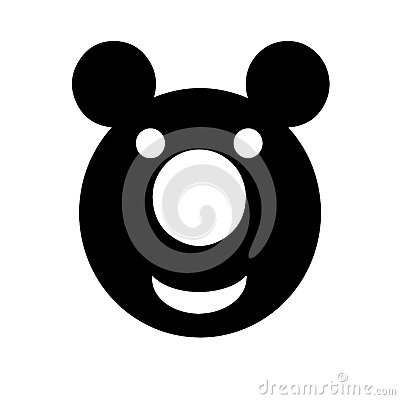 Smiling teddy bear vector Vector Illustration