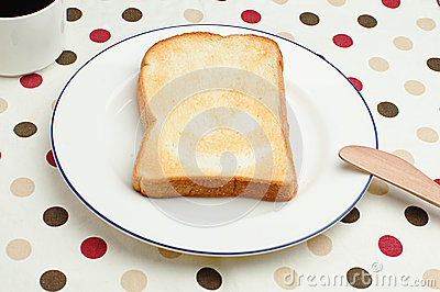 Smiling toast
