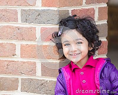Smiling Toddler Girl
