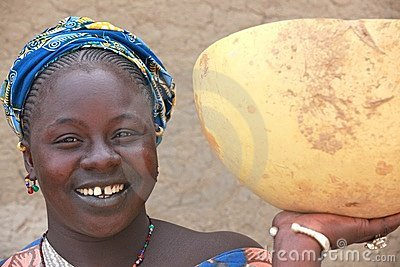 Smiling woman Editorial Stock Image