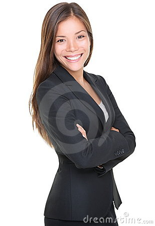 Free Smiling Young Businesswoman Portrait Stock Image - 17132591
