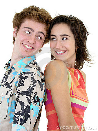 Free Smiling Young Couple Royalty Free Stock Images - 254889