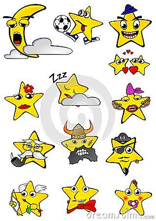 Smilling stars