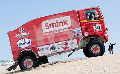 Smink Rally Team 2013 Editorial Stock Photo
