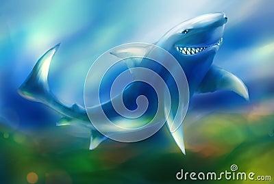 Smirk of the shark