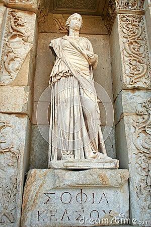 Smirne-tacchino di rovine di Ephesus
