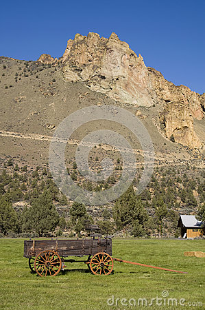 Wagon Trail Smith Rock Central Oregon Geology