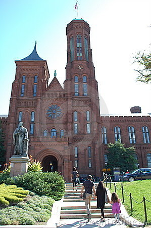 Smithsonian Institution, Washington DC Editorial Photo