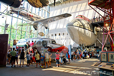 Smithsonian National Air and Space Museum Editorial Image