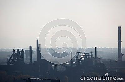 Smog over Ostrava