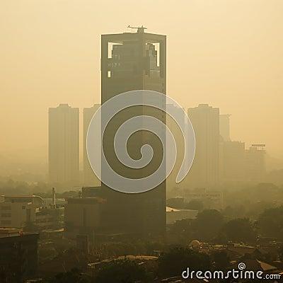 Smog Sunrise