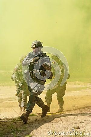Smoke Editorial Stock Photo