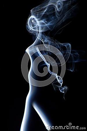 Smoke Abstract Vertical