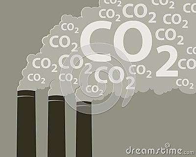 Smoke with CO2