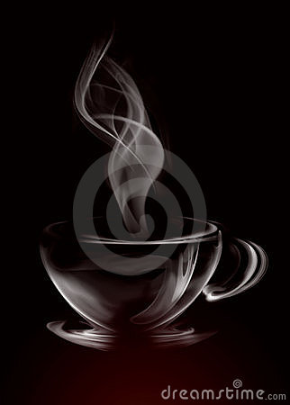 Free Smoke Cup Of Coffee Royalty Free Stock Images - 3247809
