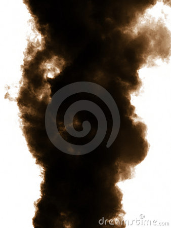 Free Smoke Emission In Atmosphere Royalty Free Stock Photos - 8099668