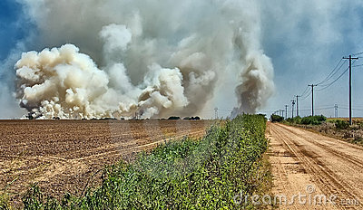 Smoke and Fire at the Ranch