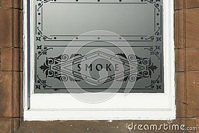 Smoke Glass WIndow