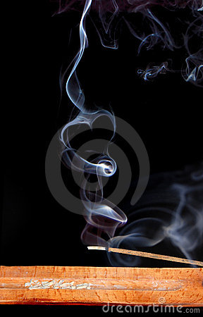 Free Smoke Of Incense Royalty Free Stock Images - 13167639