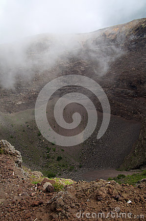 Free Smoke Over Vesuvius Volcano Crater Near Naples In Italy Royalty Free Stock Photo - 67019525