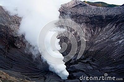 Smoke Plume of Mt. Bromo