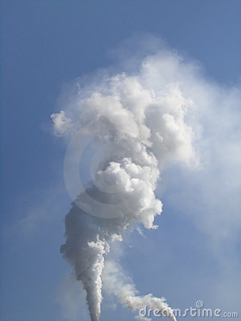 Smoke Stack Royalty Free Stock Photography - Image: 15245837