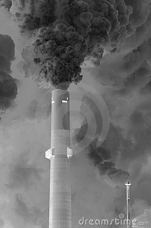 Free Smoke Stack Royalty Free Stock Photo - 4224915