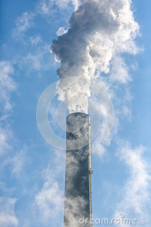 Free Smoke Stack Stock Photo - 77450650