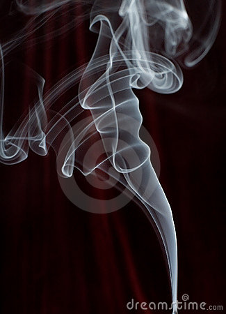 Free Smoke Trail Royalty Free Stock Photography - 530837