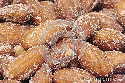Smoked Almonds Background