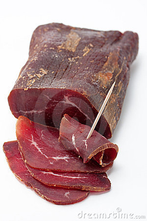 Free Smoked Dried Beef Royalty Free Stock Photography - 23423777